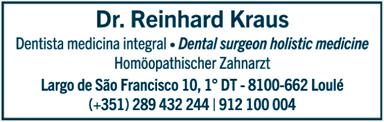 Dr. Reinhard Kraus